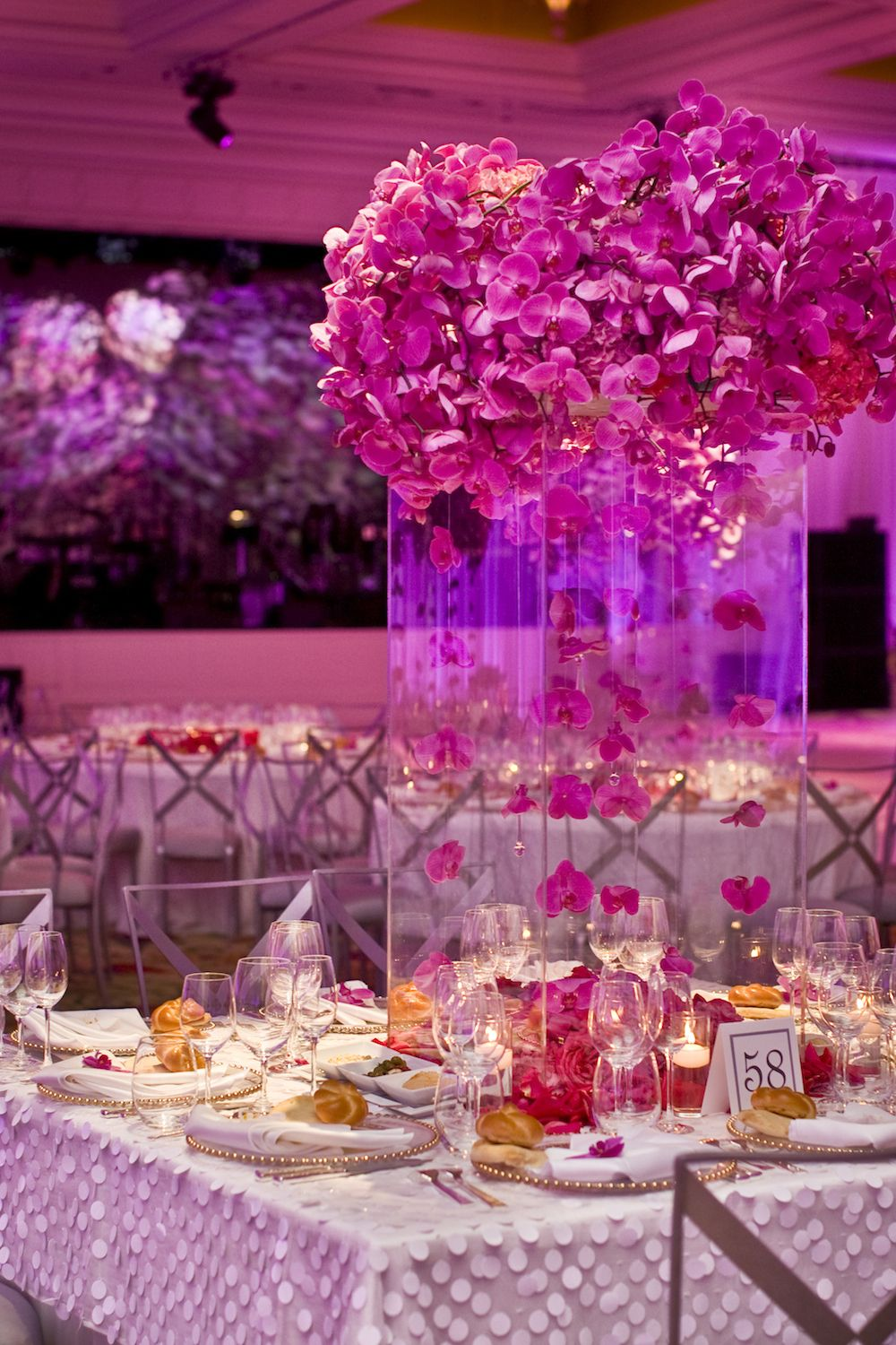 Empty Vase- Vibrant wedding with over 20 shades of pink | Mindy ...