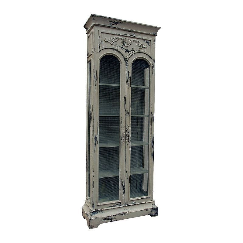 Best Guildmaster 600029 36 Inch Wide Mahogany Display Cabinet 400 x 300