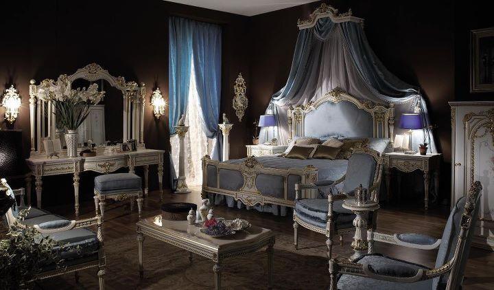 Chambre à coucher Royale Blanc cassé-Gris | Chambres à coucher ...