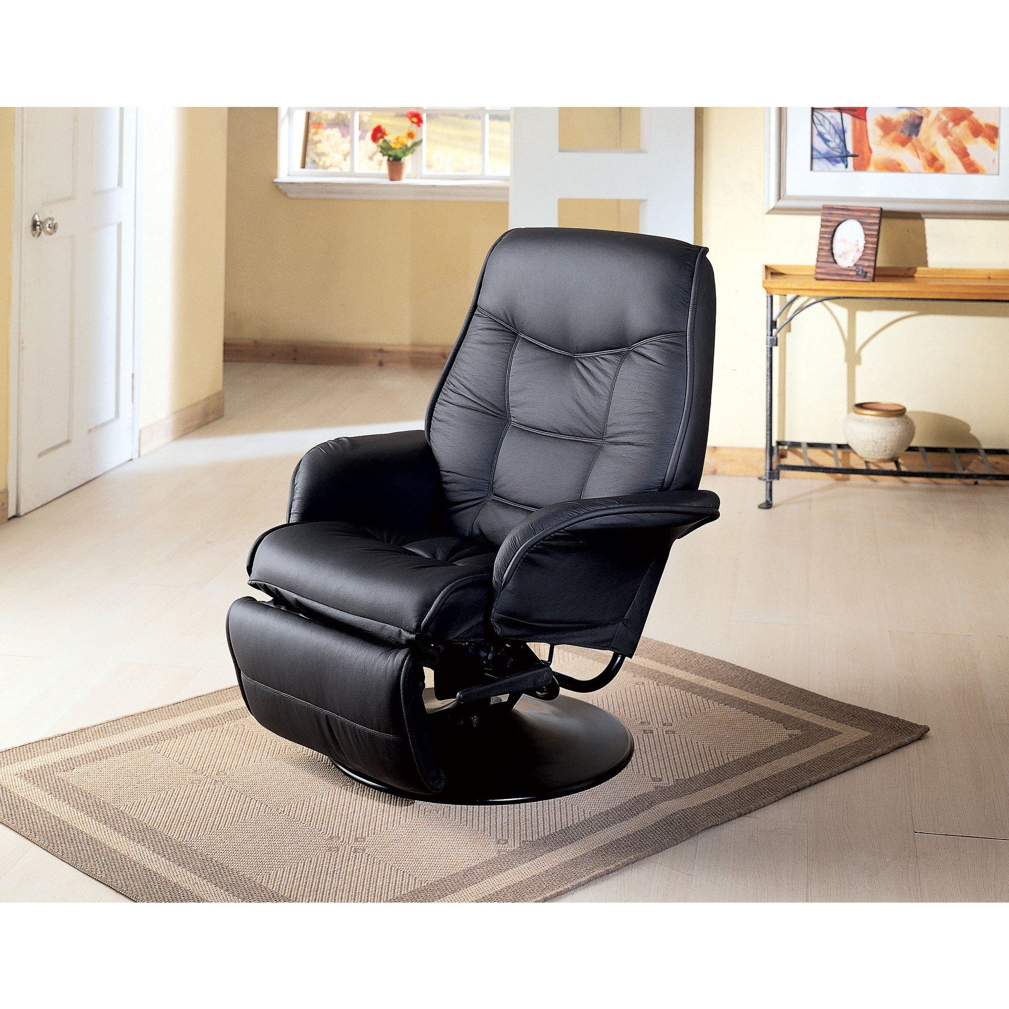 Superb Coaster Company Leatherette Swivel Recliner Chair Off Ibusinesslaw Wood Chair Design Ideas Ibusinesslaworg