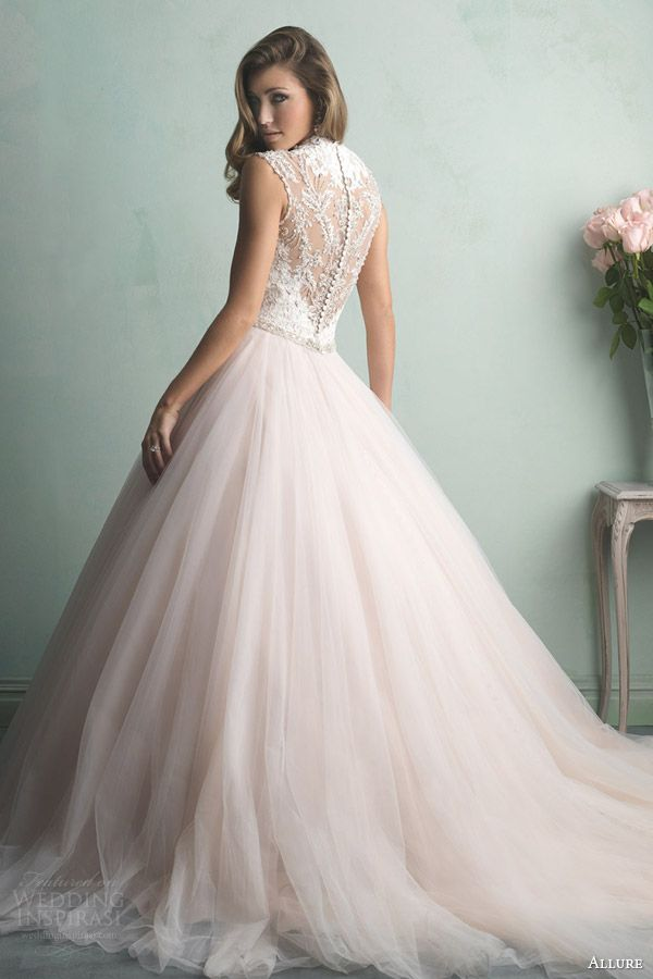 Stunning Blush Color Wedding Dress Pictures - Styles & Ideas 2018 ...