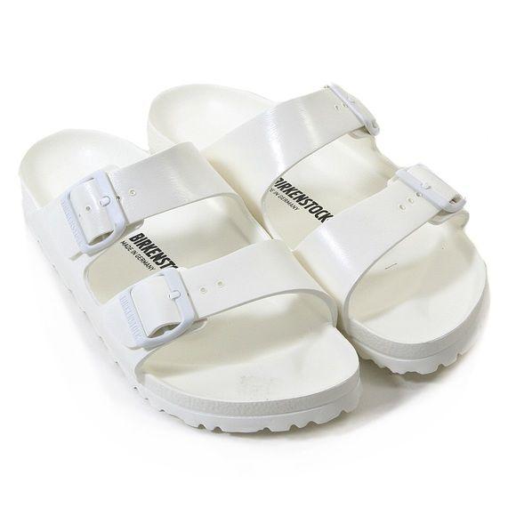 b79a7eb19058 Arizona Eva Birkenstocks White Eva Arizona rubber waterproof Birkenstocks  in excellent condition! Size 39 Birkenstock Shoes Sandals