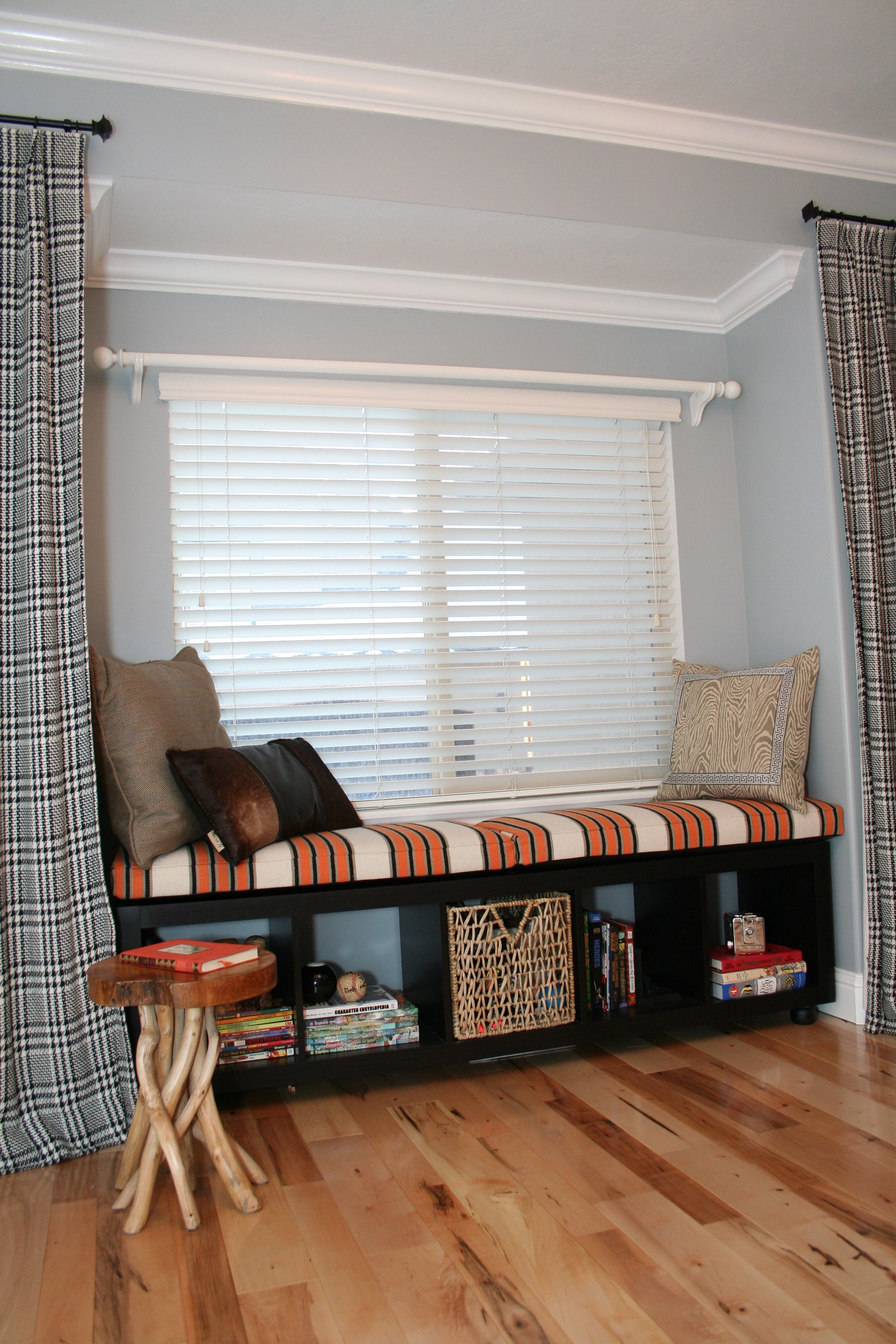 Making a window seat from an ikea expedit bookcase home decorating