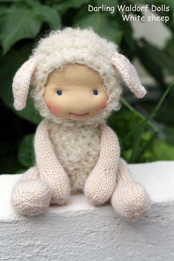 sheep.jpg (600×900) | Waldorf | Pinterest | Muñecos waldorf ...