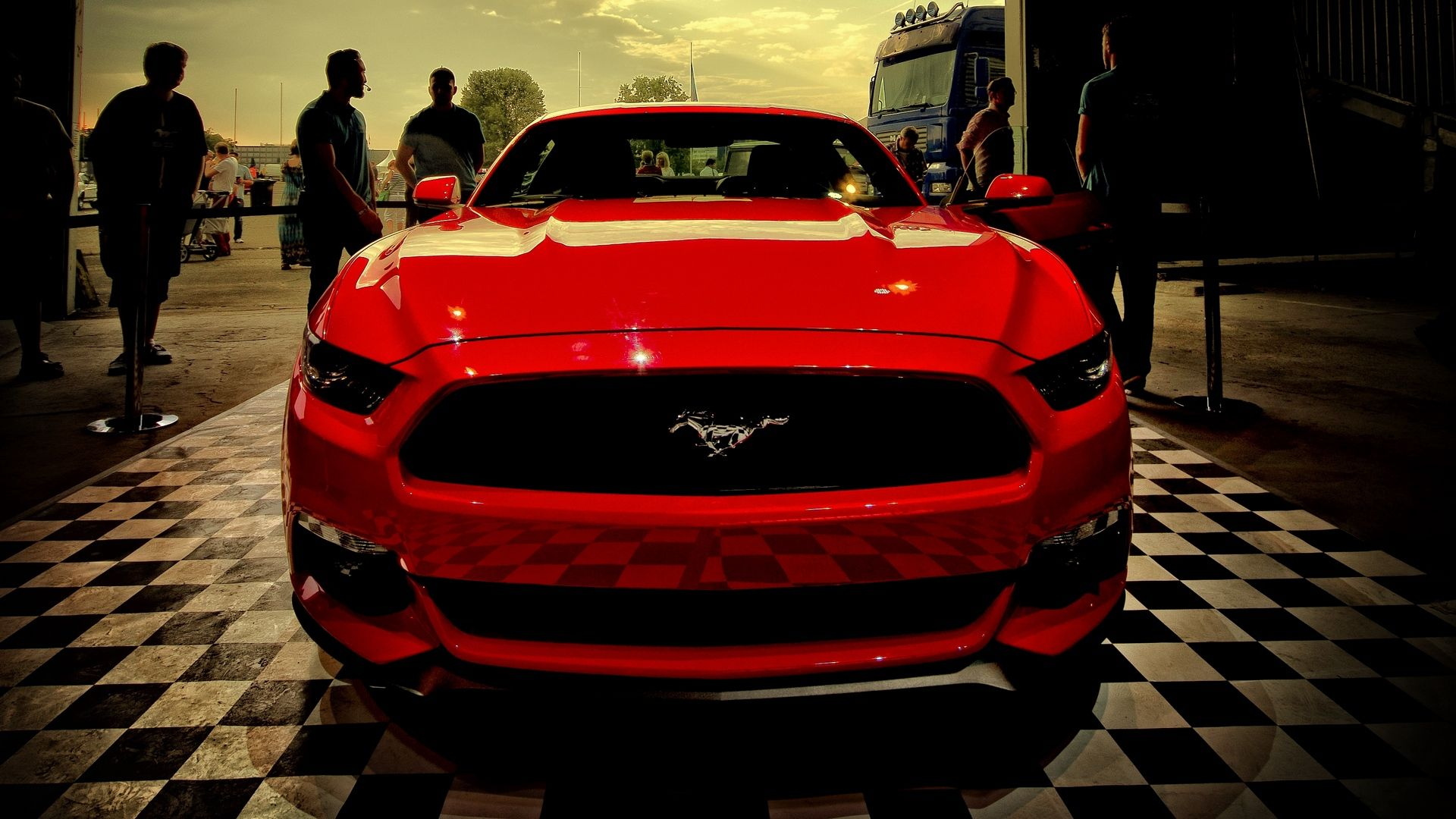 Red Ford Mustang 4k Wallpaper Ford Mustang Mustang Mustang Price