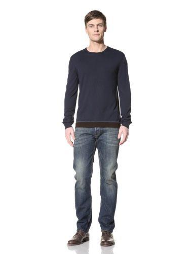 39% OFF Gucci Men\'s Crew Neck Sweater (Blue)