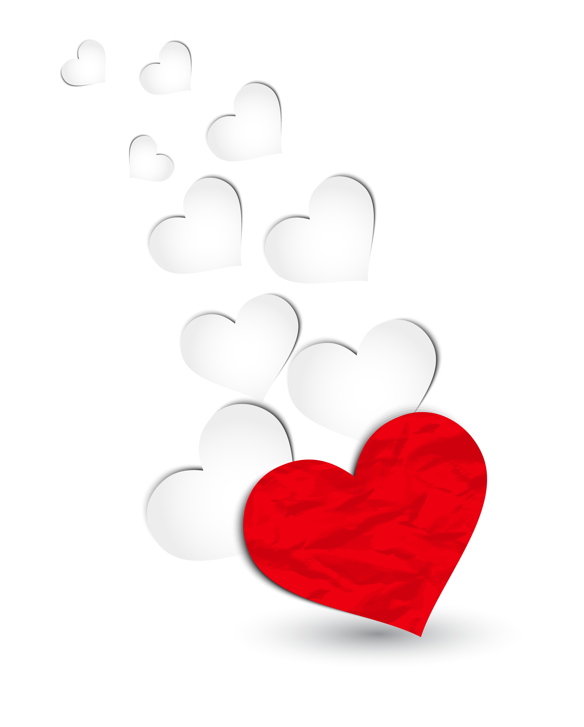 Red And White Hearts Decoration Png Clipart Picture White Heart Emoji Heart Decorations Love Heart Emoji