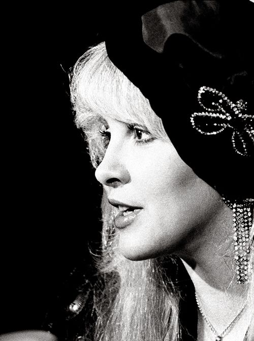 Stevie Nicks photographed in Amsterdam, 1989.