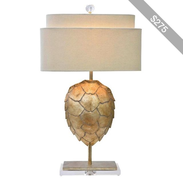 Atchison Home Gold Tortoise Table Lamp