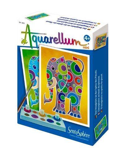 SentoSphere Kreativset Malset Aquarellum Mini Elefanten für Kinder ...