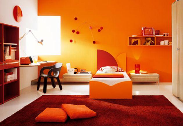 101 Woonideeen Slaapkamer : Mooi oranje is niet lelijk woonideeën kamer pep