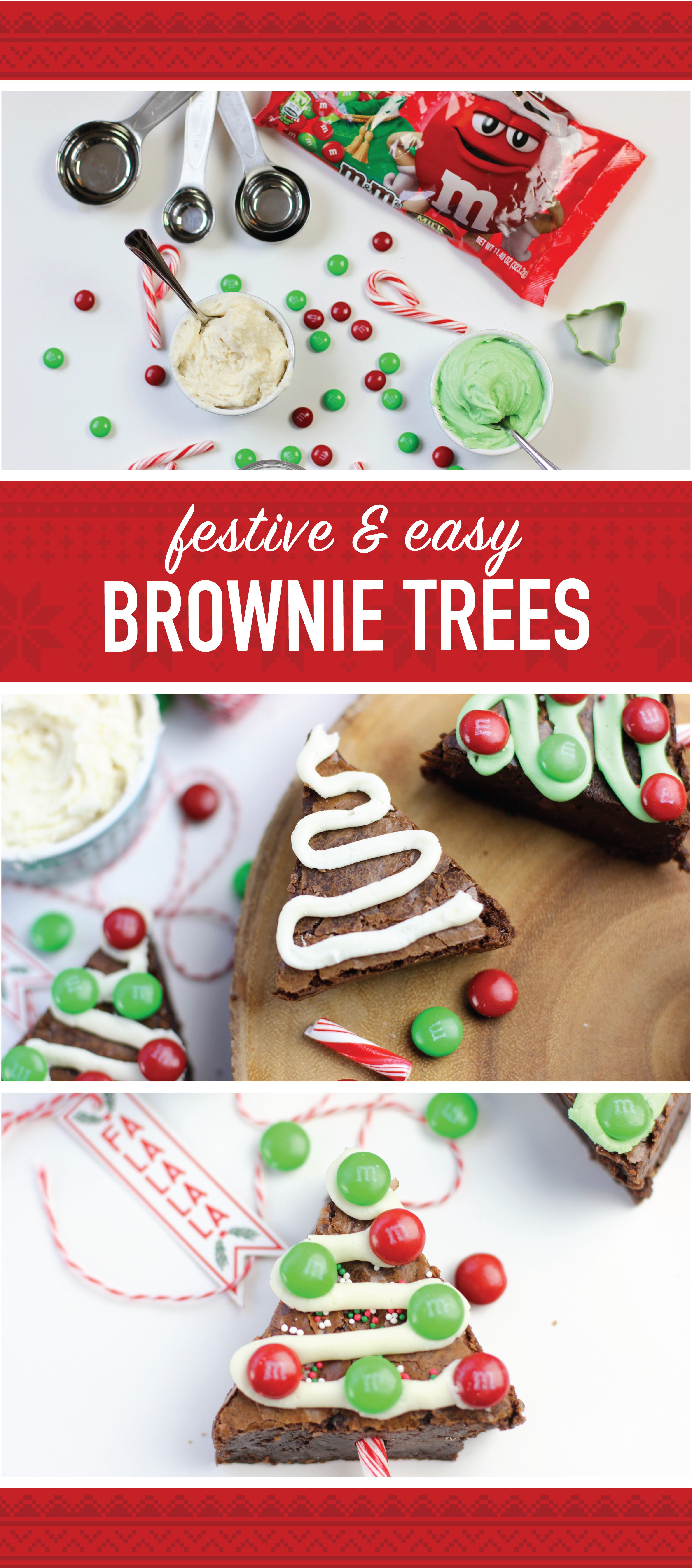 check out this recipe for mms brownie christmas trees using mms milk chocolate ugly sweater packs your favorite - Fred Meyer Christmas Trees