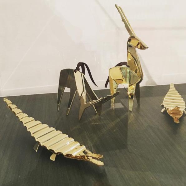 brass ideas for hotel keys holder from wallpaper handmade at salone del mobile 2016