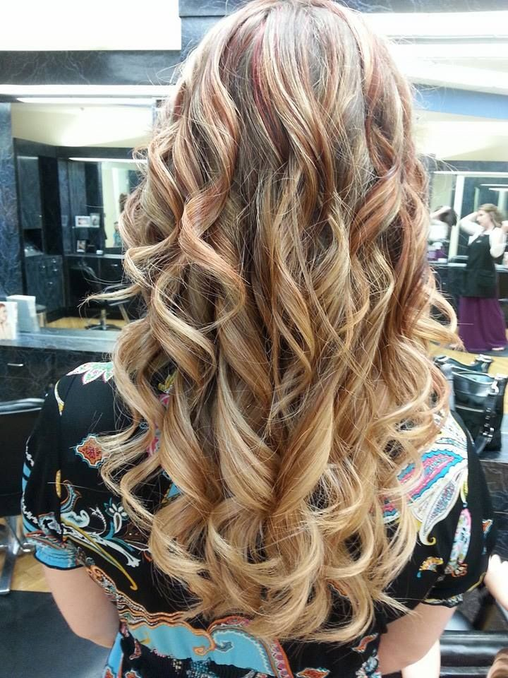 This Is My New Spring 2014 Hair Color Redlight Brown To Blonde