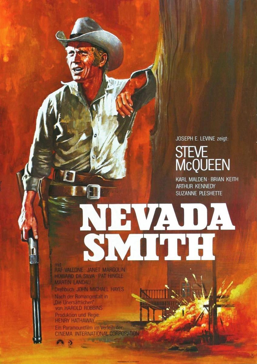 Nevada Smith 1966 Afiche De Cine Carteleras De Cine Carteles De Cine