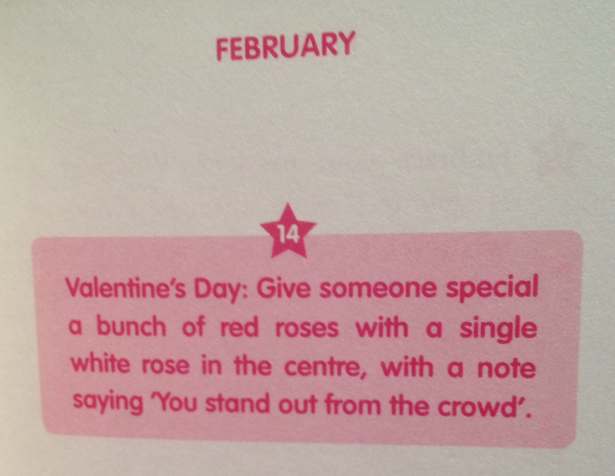 Cute valentines idea .. Roses stand out from the crowd #love