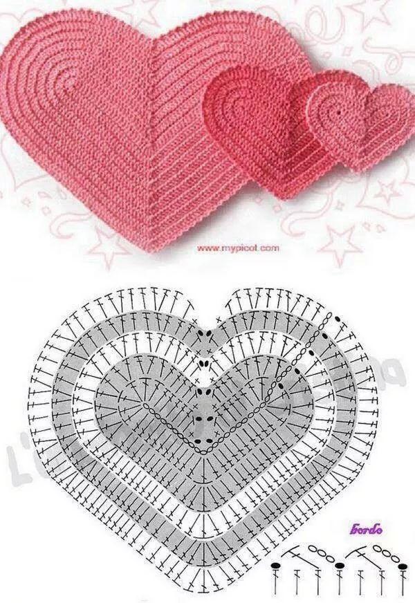 Corazon Patron y modelo | نقشه | Pinterest | Modelado, Patrones y ...