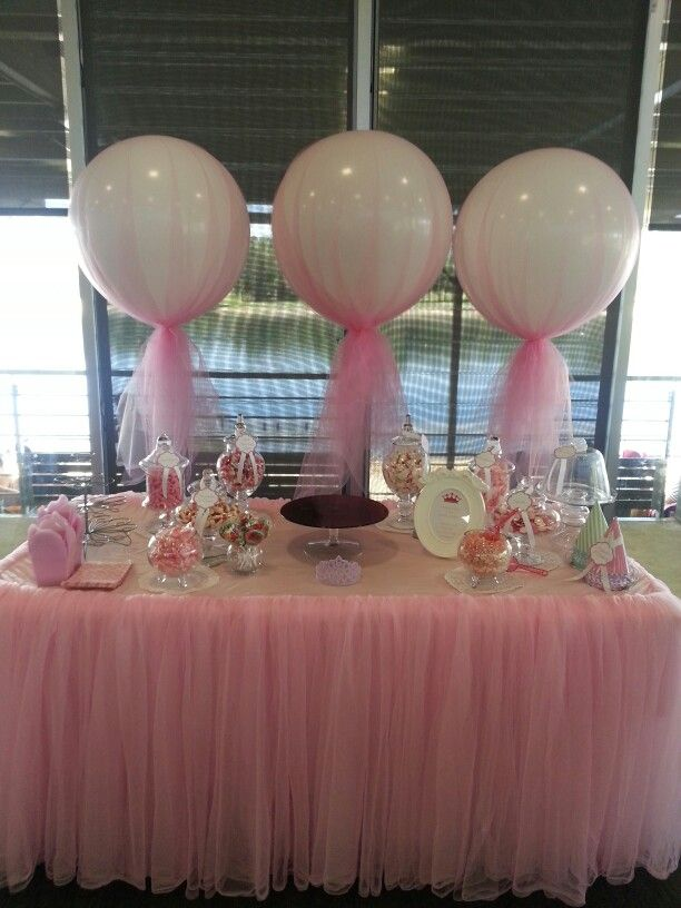 Cute And Pretty Tulle Covered Balloons Great For