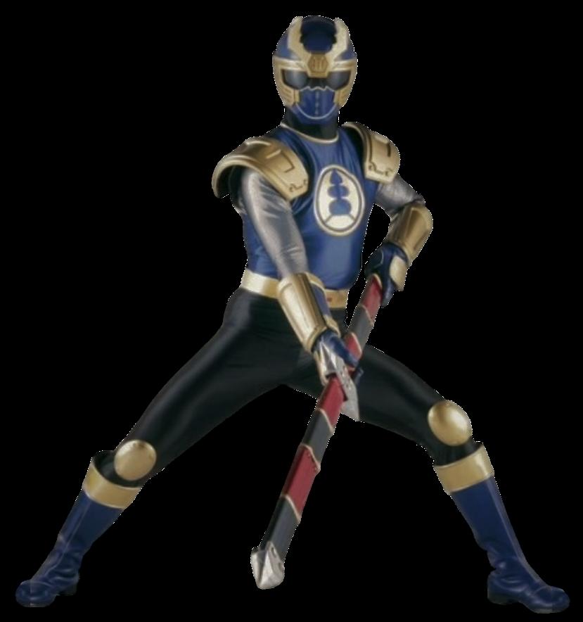 Ninja Storm Navy Ranger Transparent! by CamoFlauge