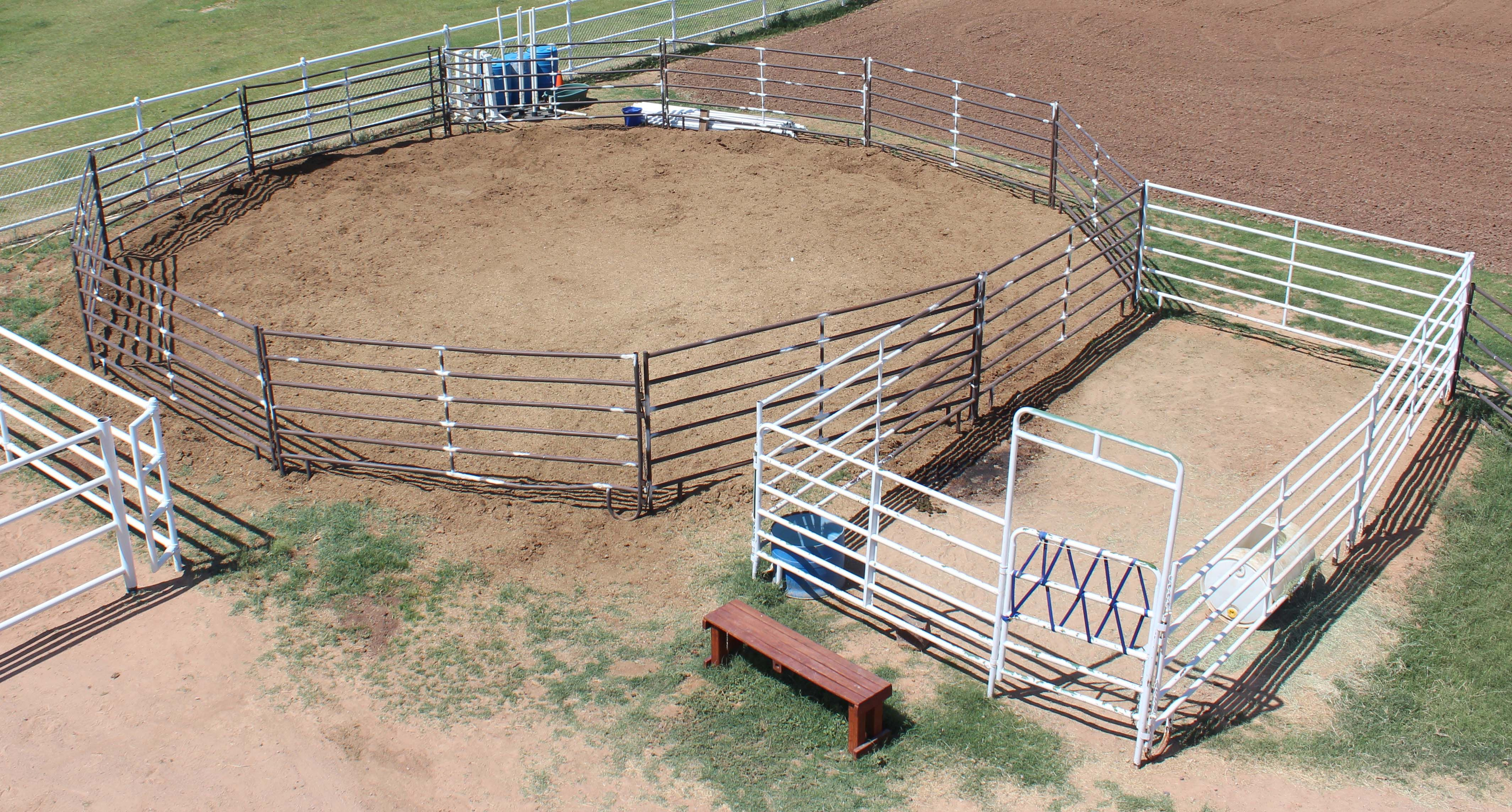 Round Pens, Gates, Feeders, Portable Stalls and more