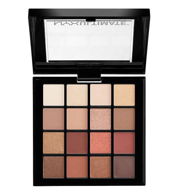 Warm Nyx Tutorial Palette Neutrals Ultimate Eyeshadow