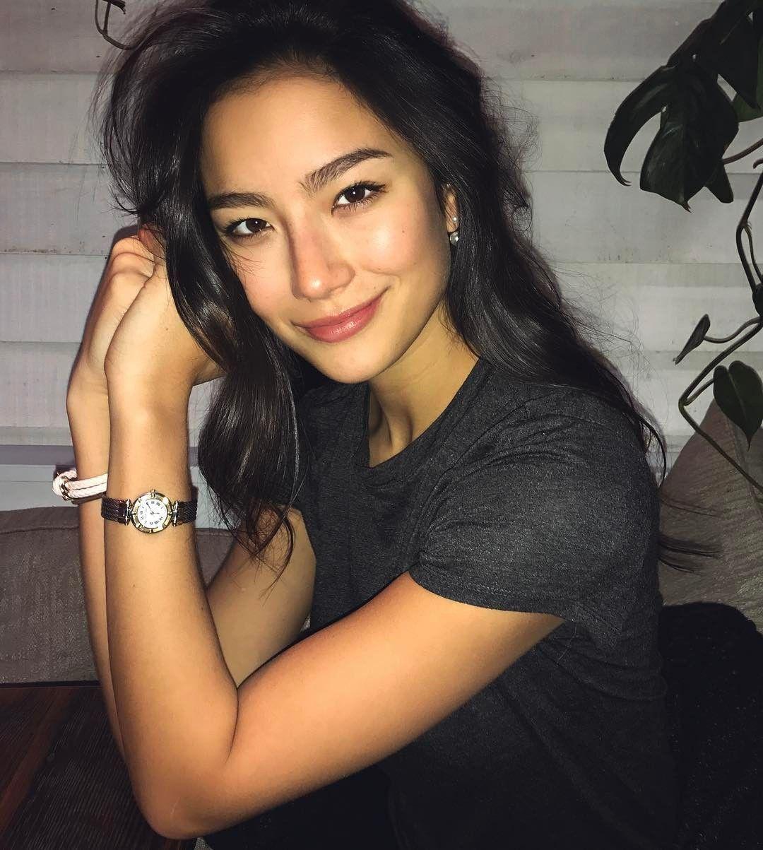 Adeline Rudolph Half Korean Biracial Women Pretty Face