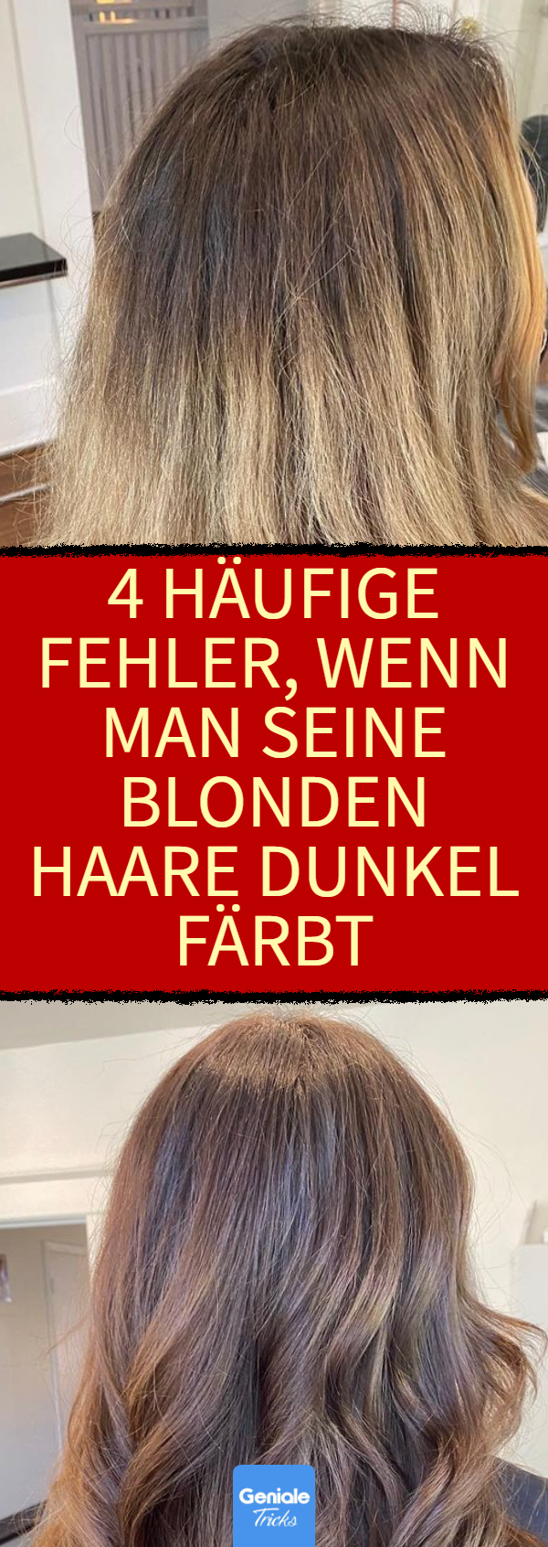 Dunkler blond gefärbte färben haare banknatisi: Haare