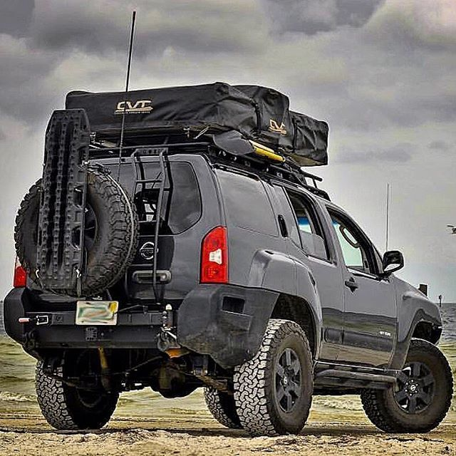 Great photo & #NissanXterra build by @x.venturer. #maxtrax ...