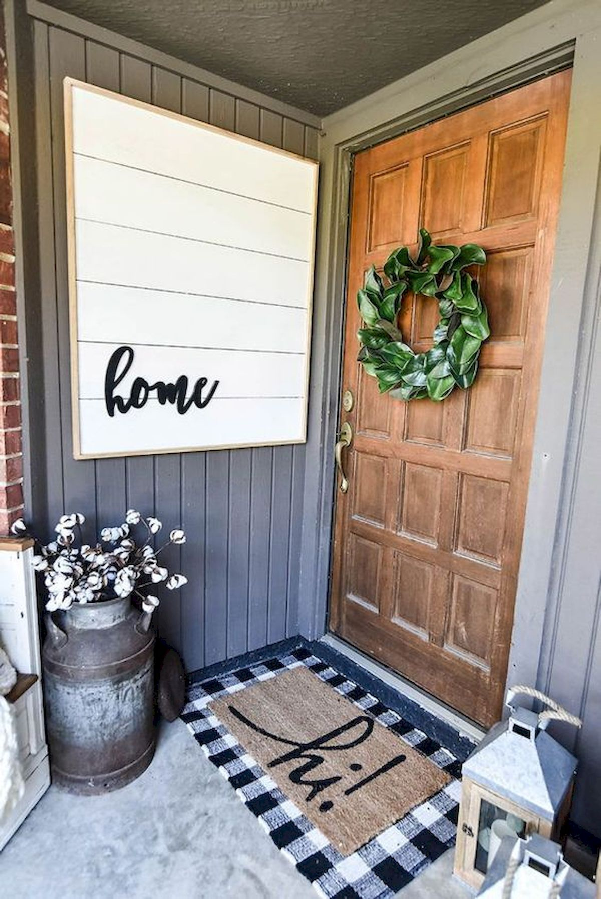 Pin By Jessica Santana On La Turquoise Front Porch Decorating Porch Decorating Porch Styles