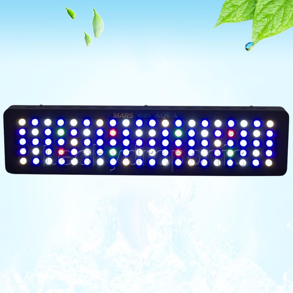 Marsaqua Dimmable 300 W Led Aquarium Lumiere Plein Spectre Recif De Corail Marin Professional Light Led Aquarium Lighting Marine Aquarium Led Grow Lights