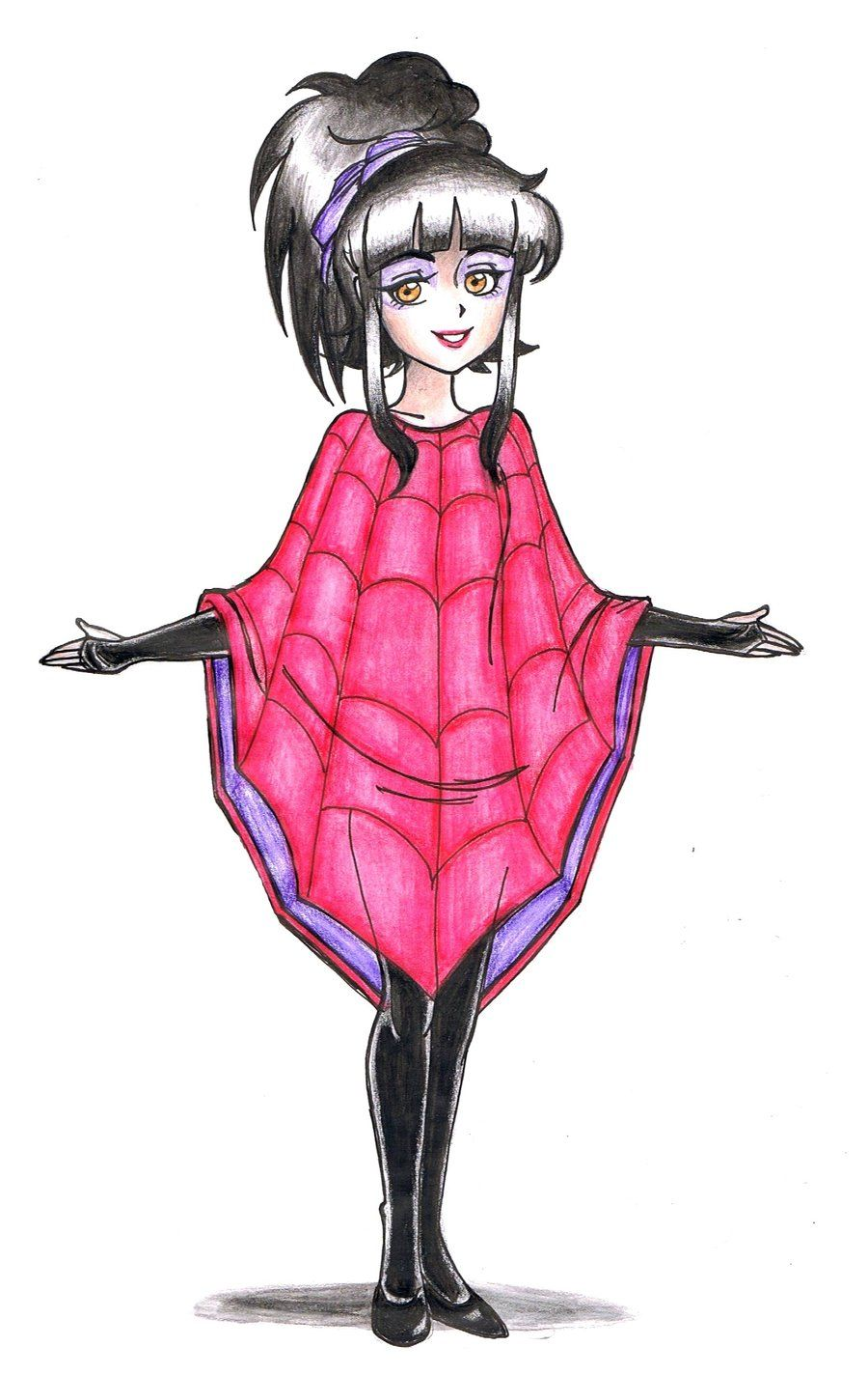 Lydia Deetz Drawing Artist Unknown Tim Burton Characters