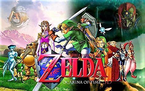 Zeldaocarina Of Time Wallpaper Link Ocarina Of Time And Majoras