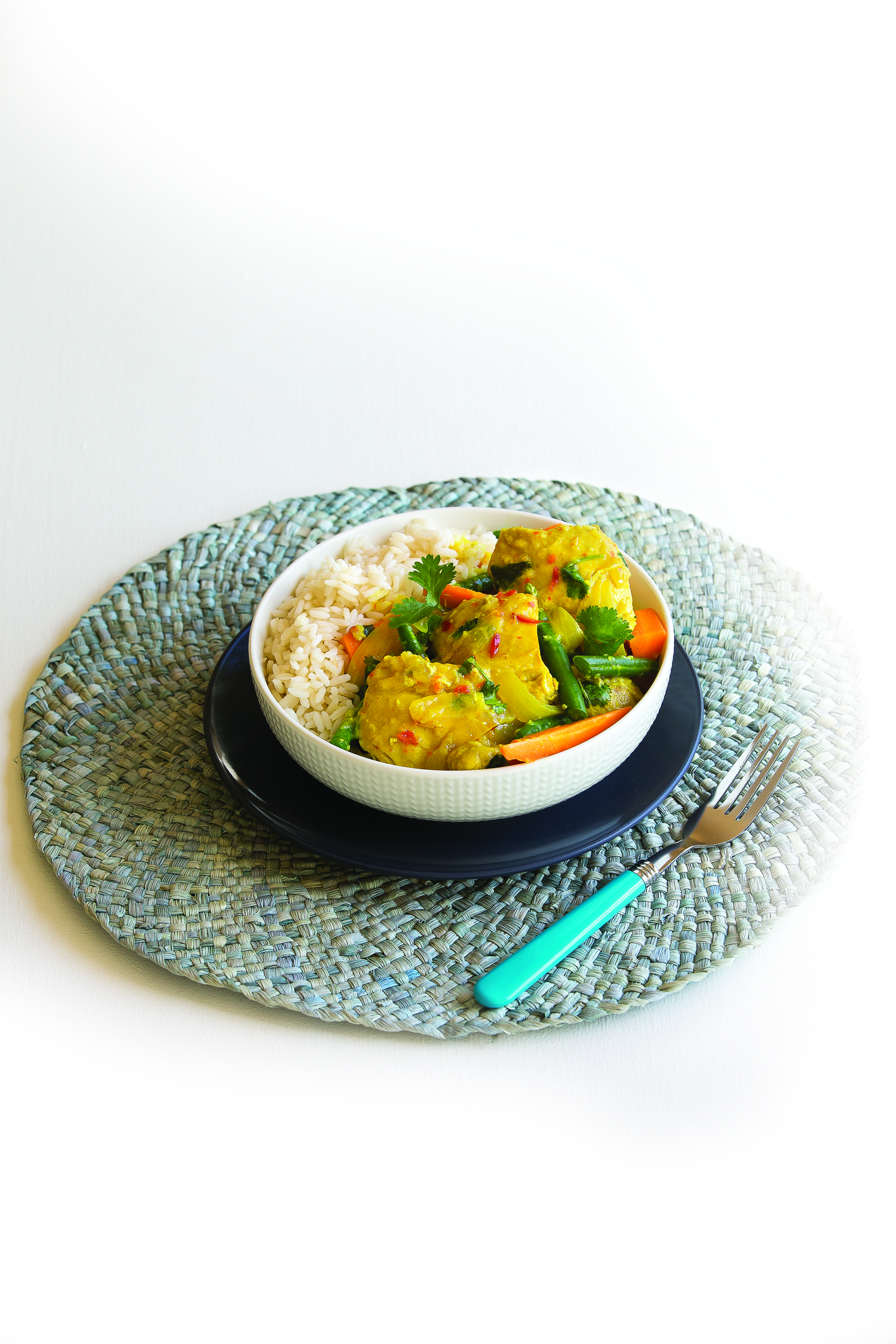 Malaysian chicken curry Healthy Food Guide Recipe