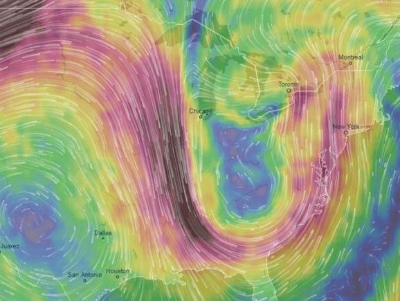 Unusual Jet Stream Patterns are Causing Extreme Weather Study Suggests