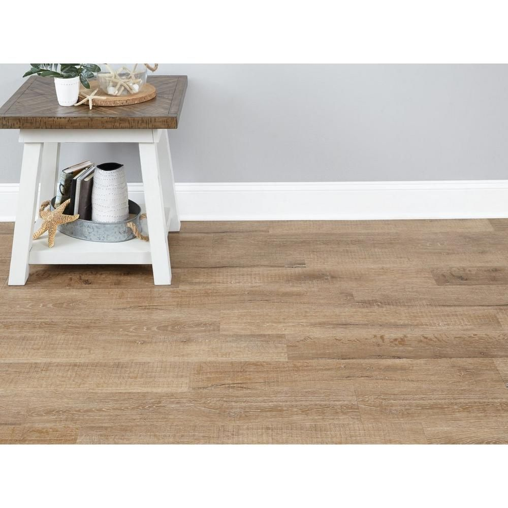 Satchel Farms Oak Rigid Core Luxury Vinyl Plank Foam Back Luxury Vinyl Plank Vinyl Plank Waterproof Laminate Flooring