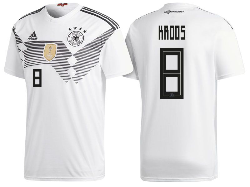 best website aa2cd 34ebc Germany 2018 World Cup Home Jersey toni kroos | 2018 Germany ...