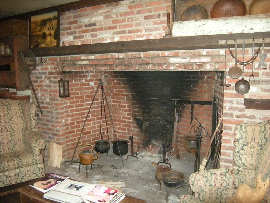 stone fireplace side of the house old house google search
