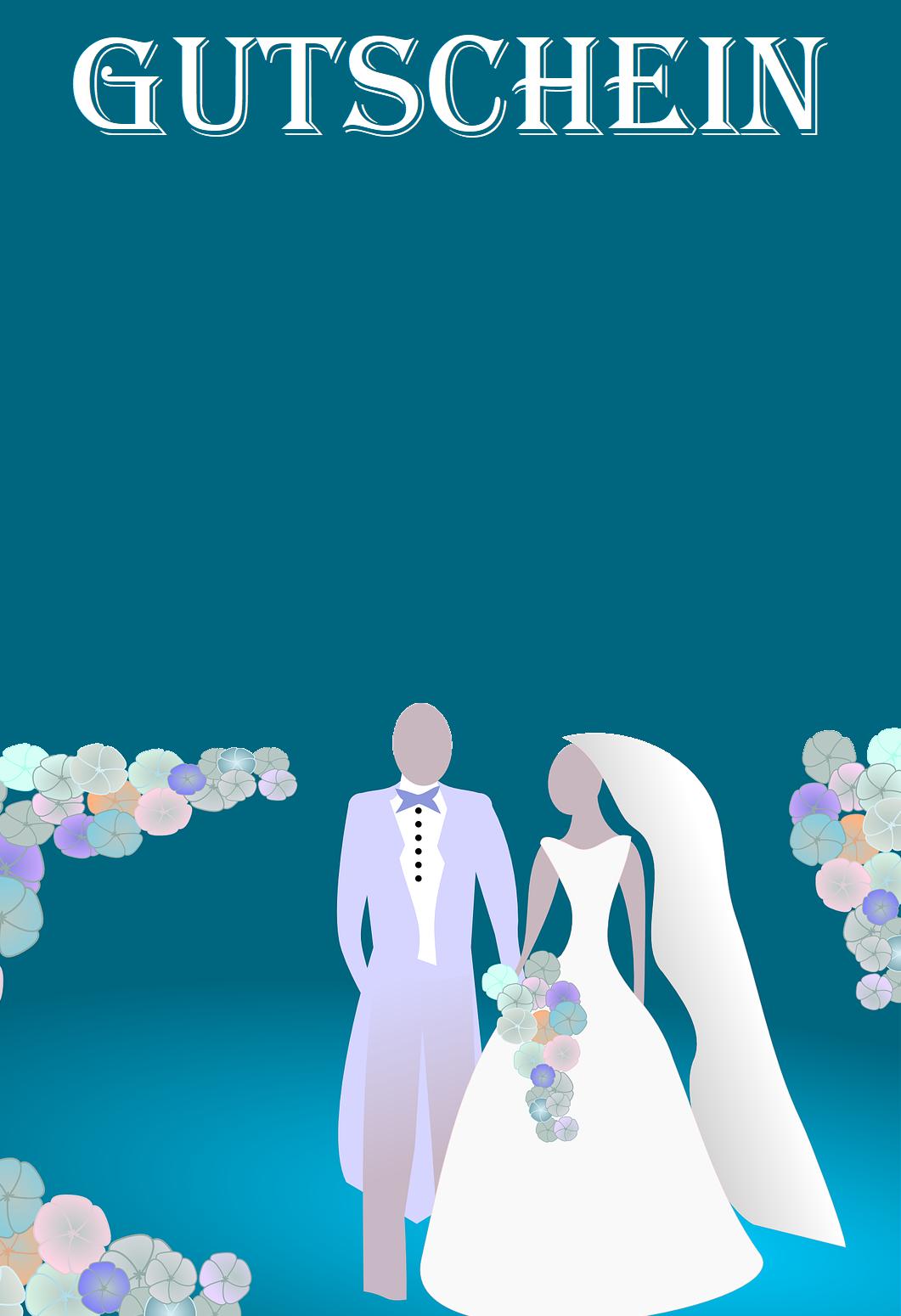 Gutscheinvorlage Zur Hochzeit In 2020 Gutschein Vorlage Gutscheine Vorlagen