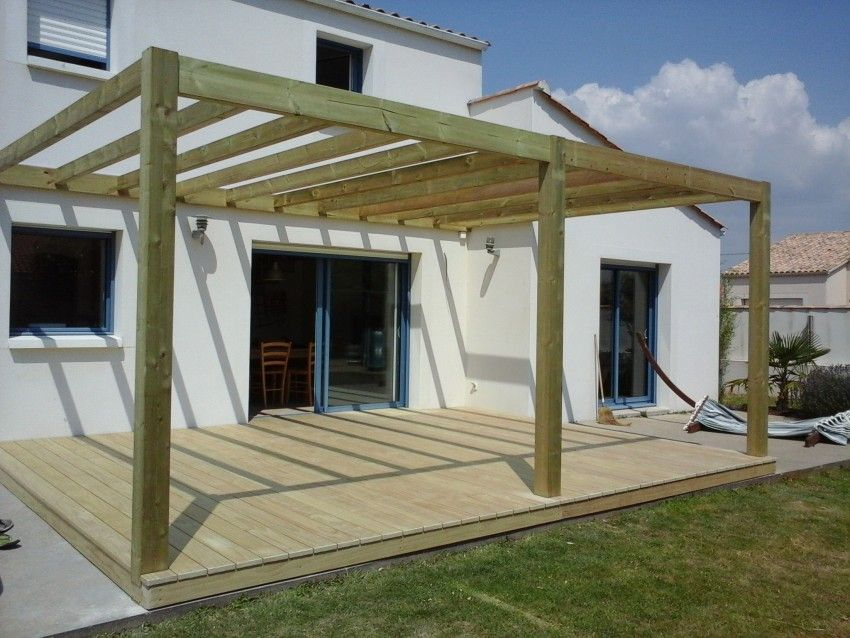 terrasse et pergola bois cl4 pergola pinterest pergola bois pergola et terrasses. Black Bedroom Furniture Sets. Home Design Ideas