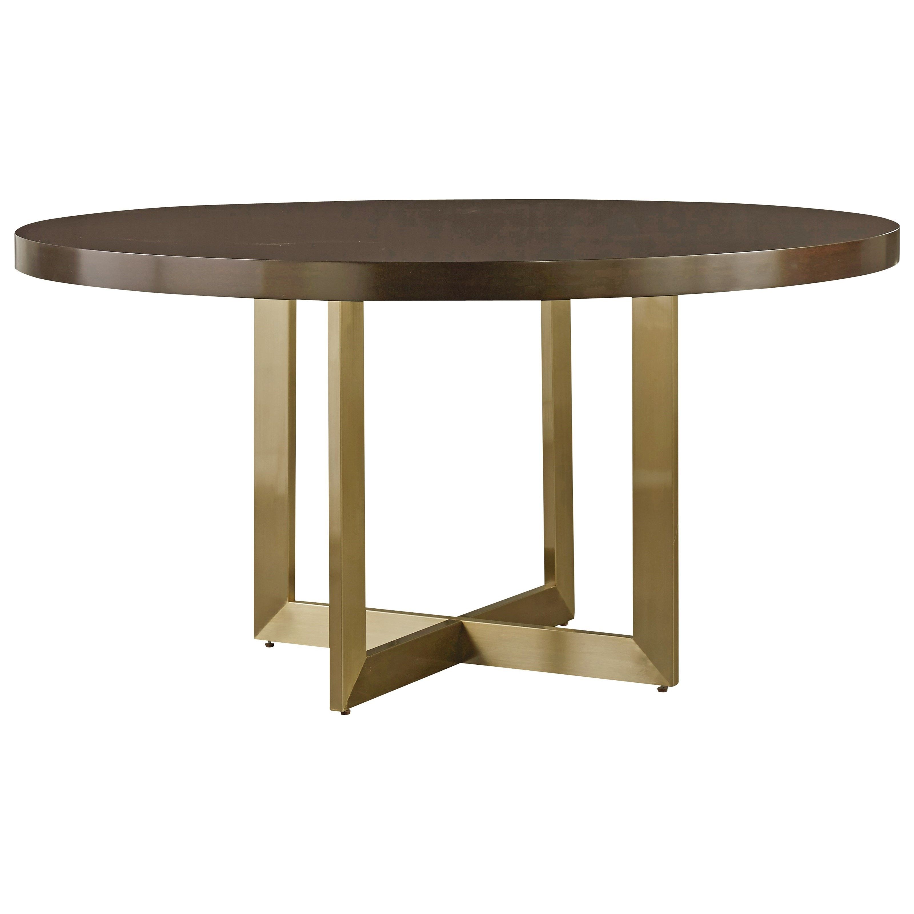 Modern Gibson Round Dining Table By Universal At Baer S Furniture