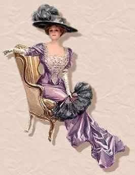 I think I was born in the wrong era... I would have rocked this look. :)