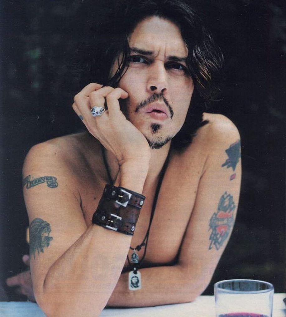 Johnny Depp On Instagram 1999 Johnny Depp Tattoos Johnny Depp Quotes Johnny Depp