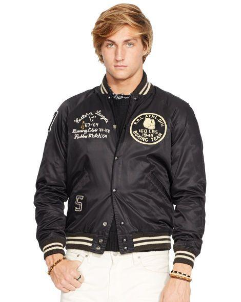 f44b920f Reversible Varsity Jacket - Polo Ralph Lauren Cloth - RalphLauren ...