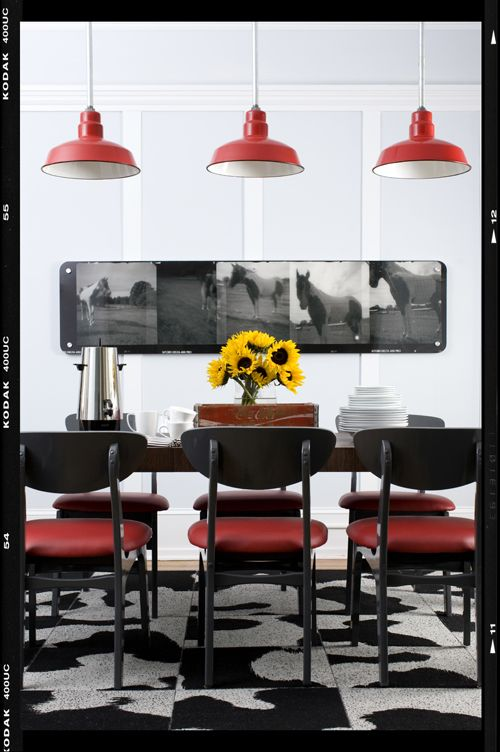 Urban Cowboy Roombrian Patrick Flynndecor Demon  Dining Room Mesmerizing Funky Dining Room Ideas Inspiration Design