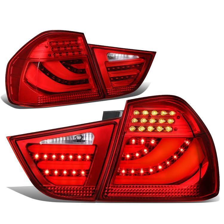 Pair Set Park Turn Signal Lamps Yellow Lens For BMW e36 Sedan