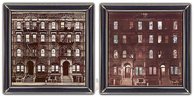 ♫ Led Zeppelin - Physical Graffiti (1975) - Design: Peter Corriston, Mike Doud https://www.selected4u.net/caa/ledzeppelin/physicalgraffiti/play.html