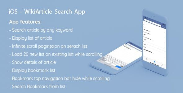 This been a great app to get wikipedia API data  You can