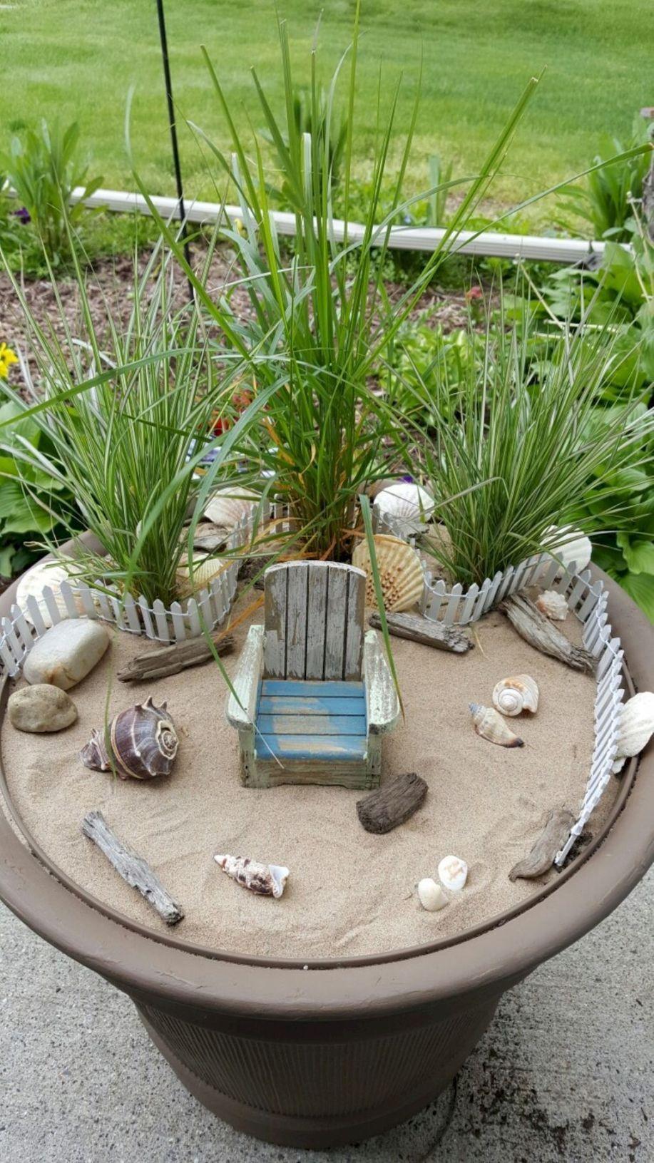 42 Creative Diy Fairy Garden Ideas Beach fairy garden