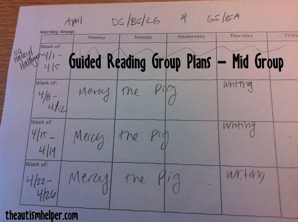 Reading Group Lesson Plans Pinterest Guided Reading Groups
