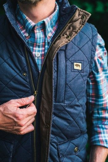 Highlands Quilted Vest Navy Winter Fashion In 2019